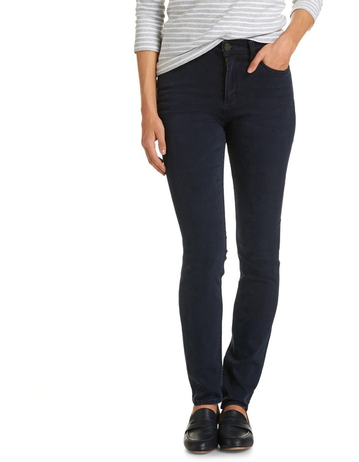 Cleo High Waisted Slim Jean image 1