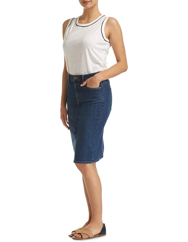 Nikki Denim Skirt image 2