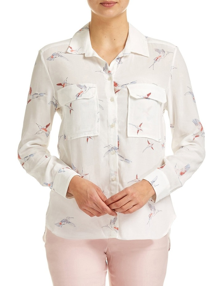 Cassidy Print Shirt image 1