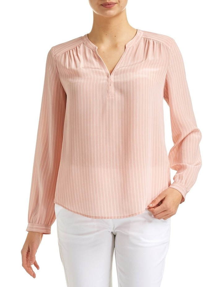 Belinda Long Sleeve Silk Top image 1
