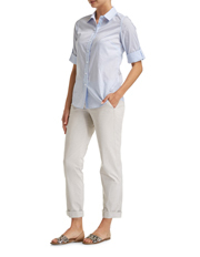 Sportscraft - Lily Voile Stripe Shirt