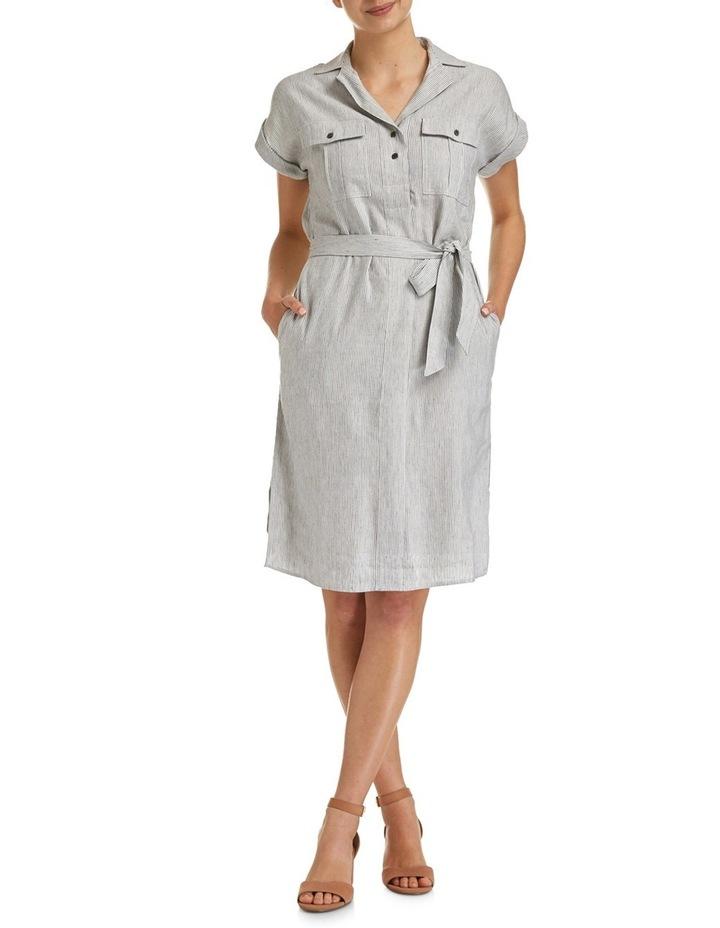 Rosy Stripe Dress image 1