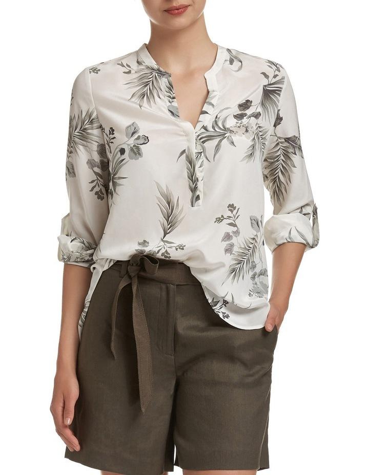 Lima Floral Silk Tunic image 1
