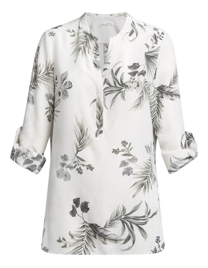 Lima Floral Silk Tunic image 5