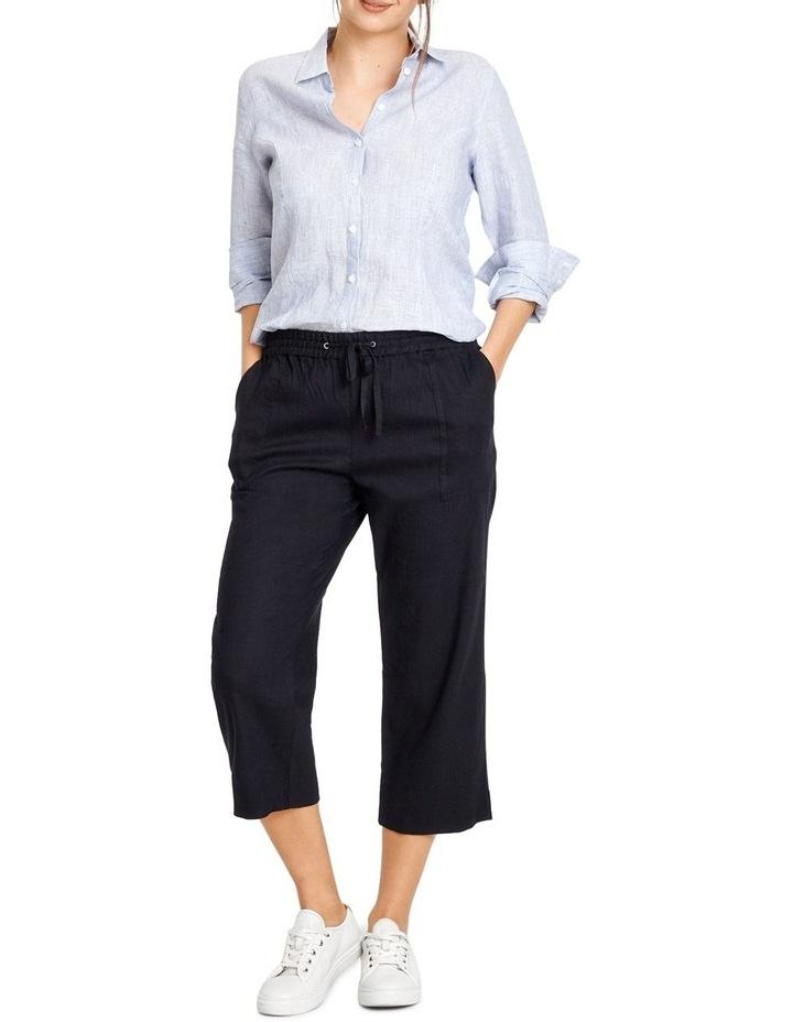 Rosa Crop Linen Pant image 2
