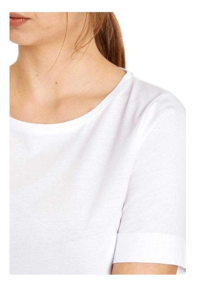 Cotton Short Sleeve Tee image 2
