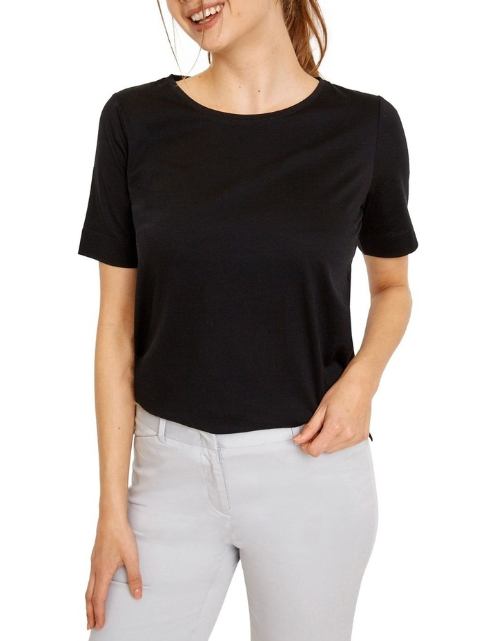 Cotton Short Sleeve Tee image 1
