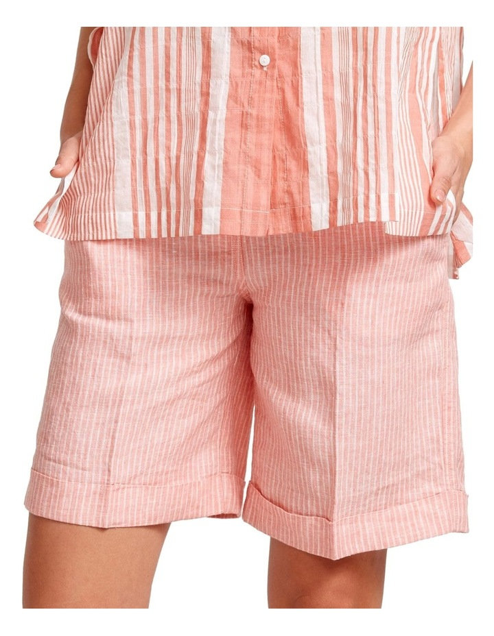 Coolum Stripe Linen Short image 1