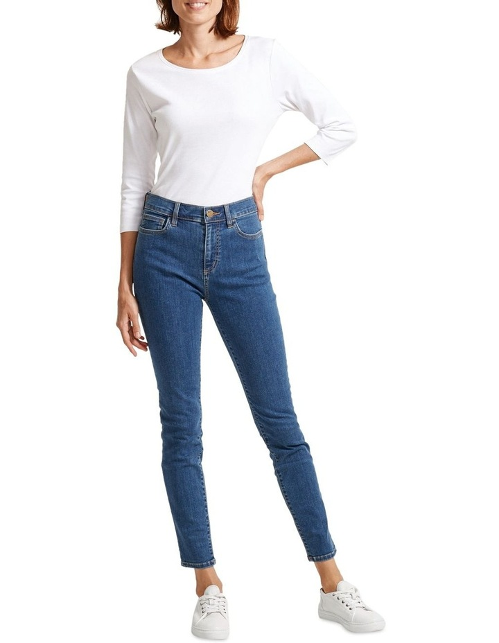 Jackie H/W Skinny Jean image 4