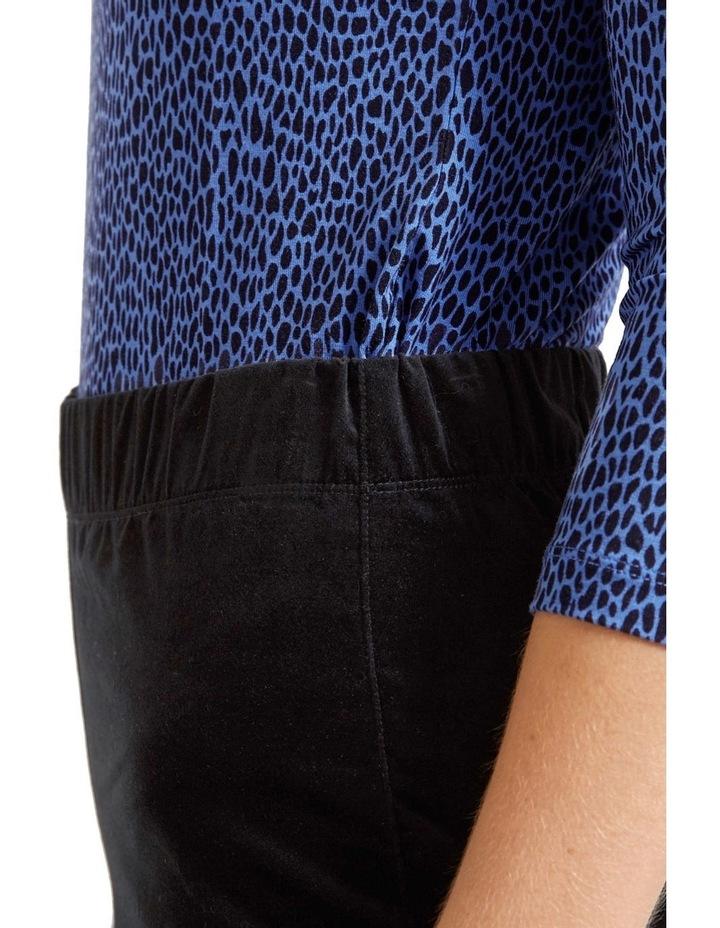 Felicity Velvet Pull On Pant image 5