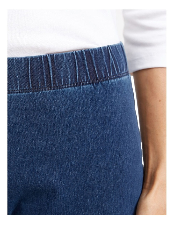 Felicity Denim Pull On Pant image 5