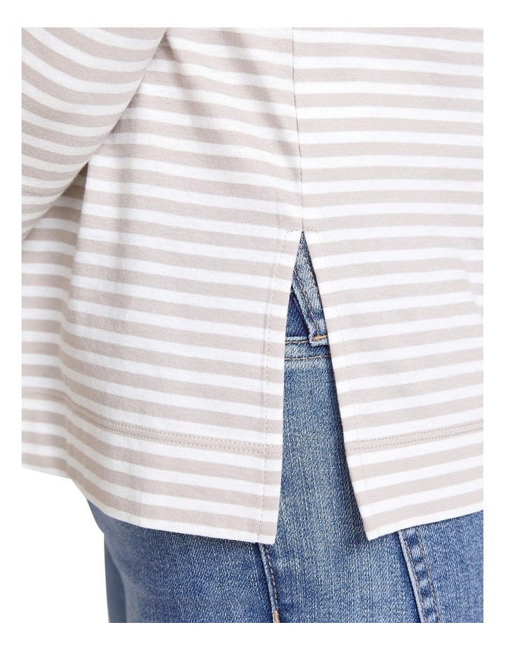 Stripe Cotton Tee image 5