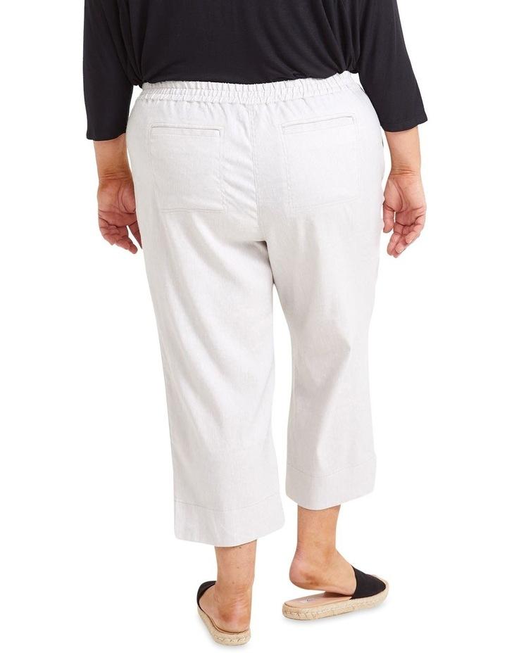 Rosa Crop Linen Pant image 3