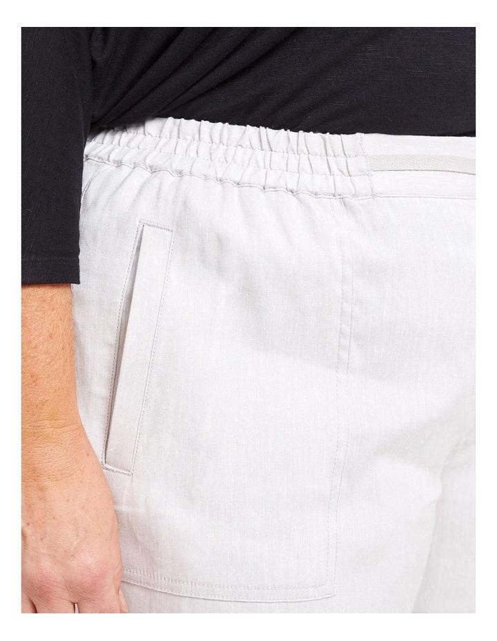 Rosa Crop Linen Pant image 4