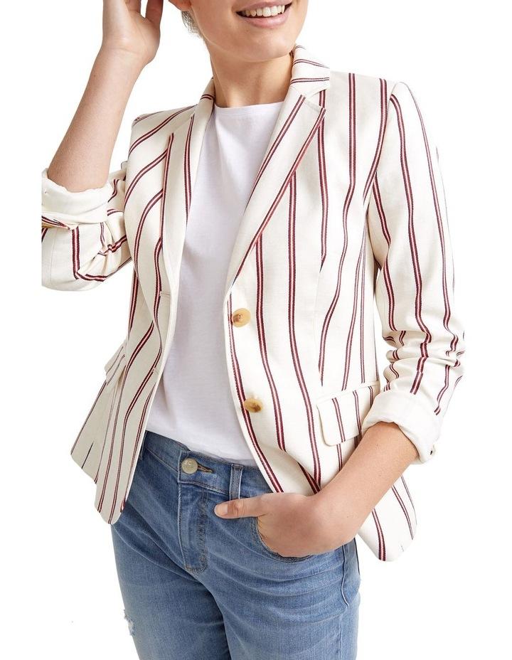 Luella Stripe Blazer image 1