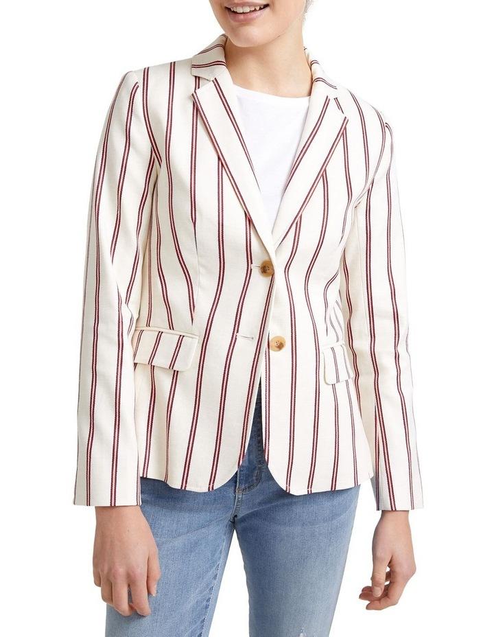 Luella Stripe Blazer image 2