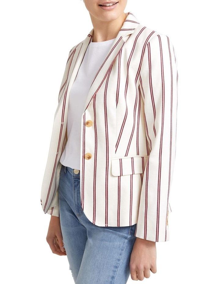 Luella Stripe Blazer image 4