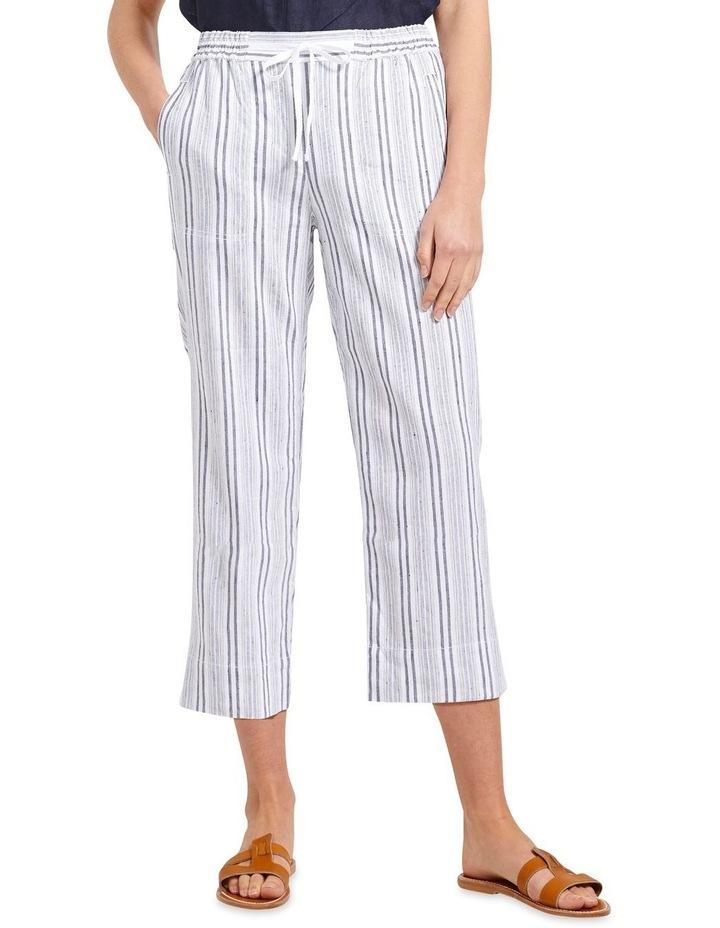 Rosa Striped Crop Pant image 1
