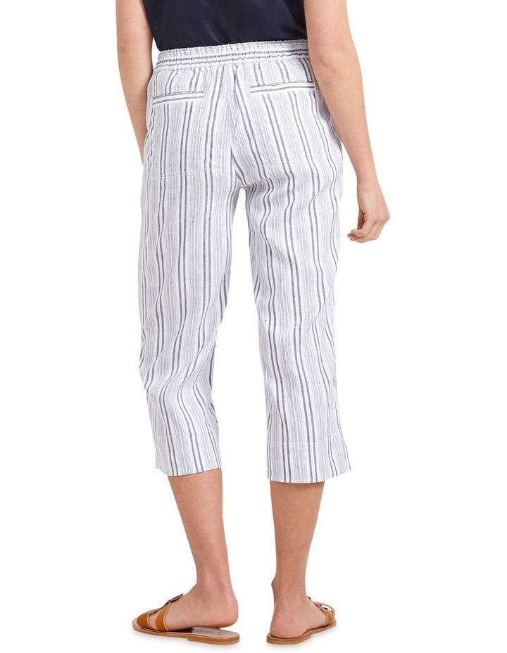 Rosa Striped Crop Pant image 2