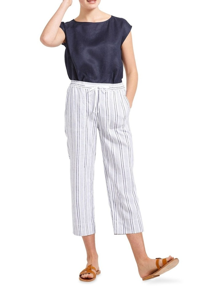 Rosa Striped Crop Pant image 3