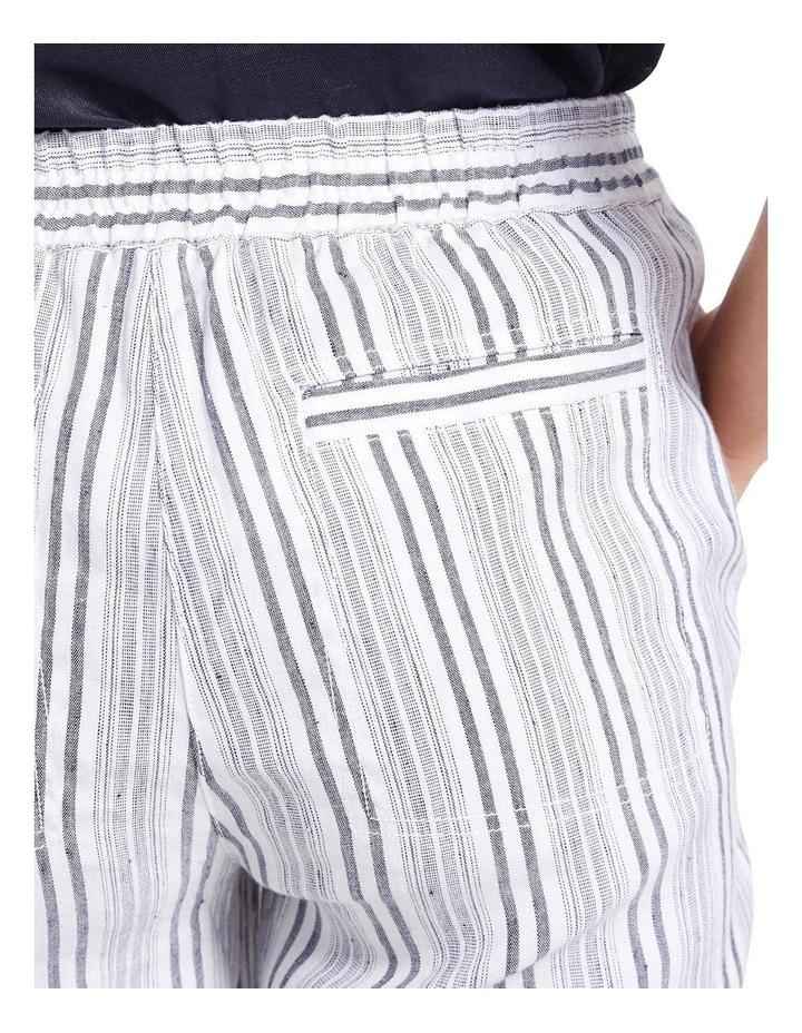 Rosa Striped Crop Pant image 5