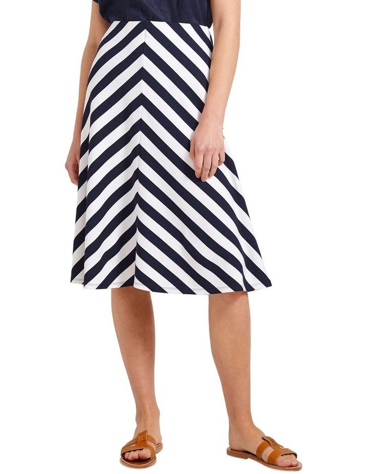 Bella Stripe Skirt image 1