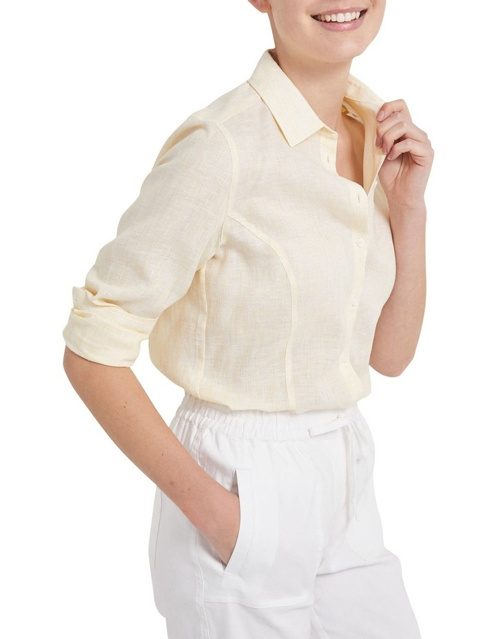 Daisy Stripe Linen Shirt image 1