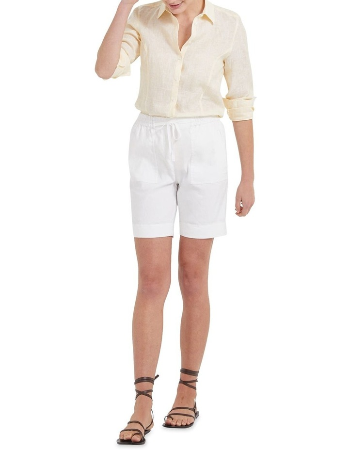 Daisy Stripe Linen Shirt image 4