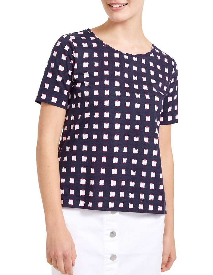 Muscat Check Tee image 1