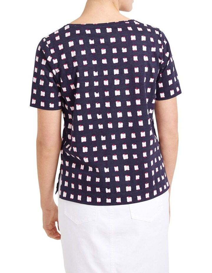 Muscat Check Tee image 3