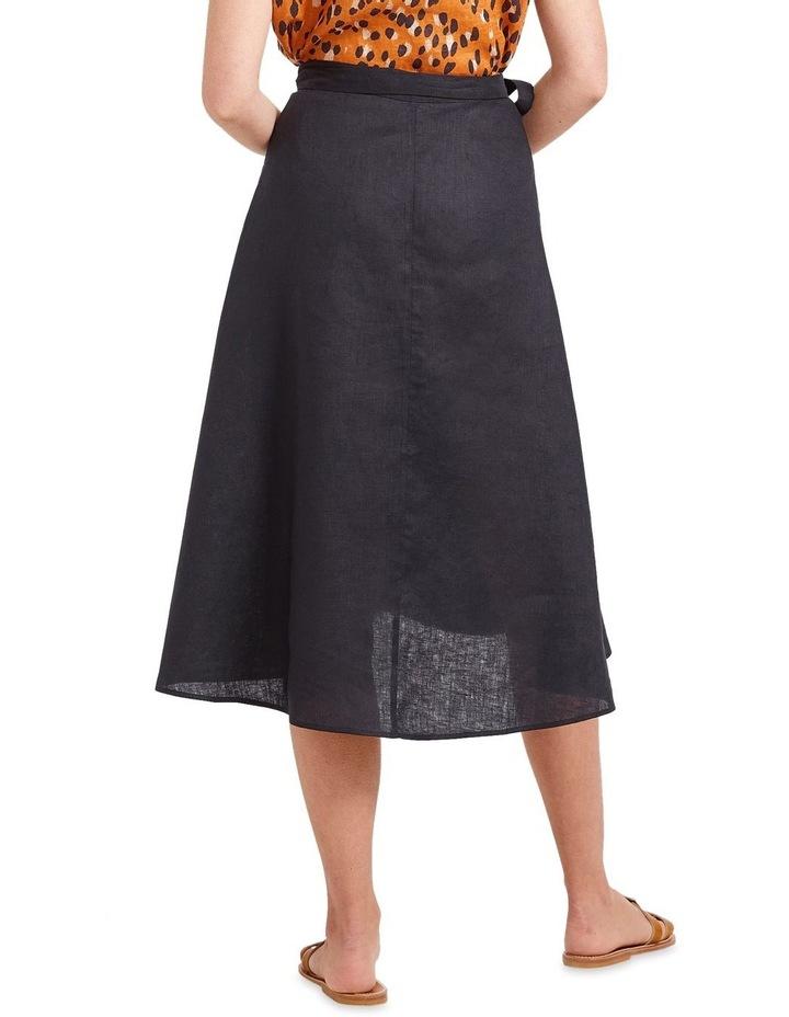 Sierra Linen Wrap Skirt image 2