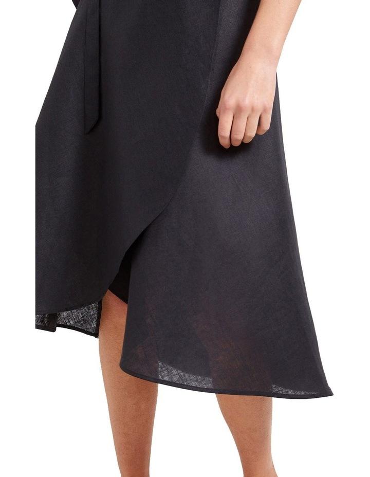 Sierra Linen Wrap Skirt image 4