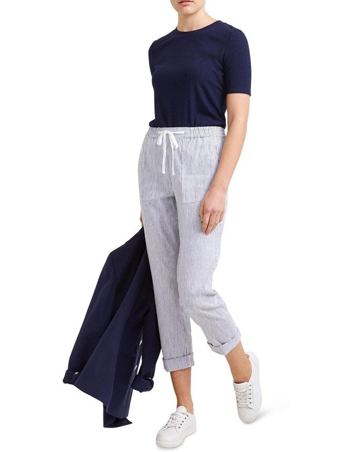 Rosa Stripe Linen Pant image 3
