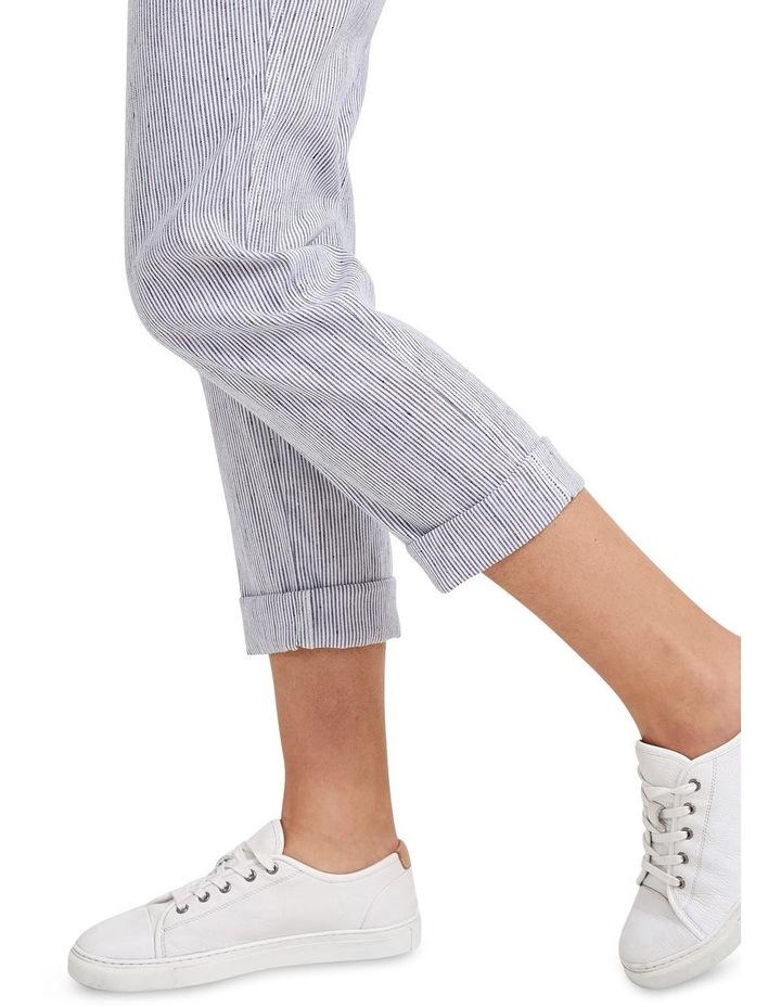 Rosa Stripe Linen Pant image 5