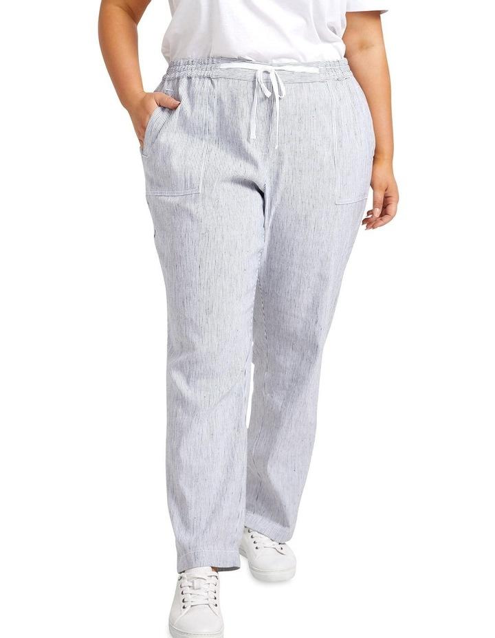 Rosa Stripe Linen Pant image 1