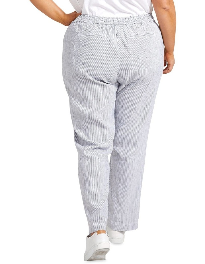 Rosa Stripe Linen Pant image 2