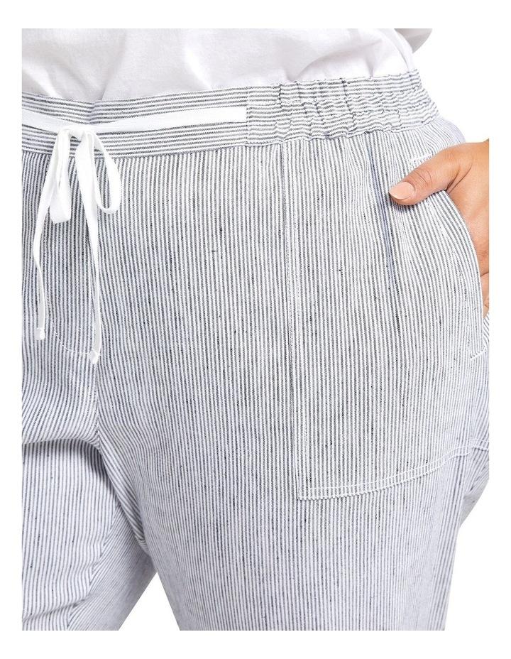 Rosa Stripe Linen Pant image 4