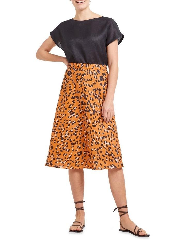 Sierra Animal Print Skirt image 3