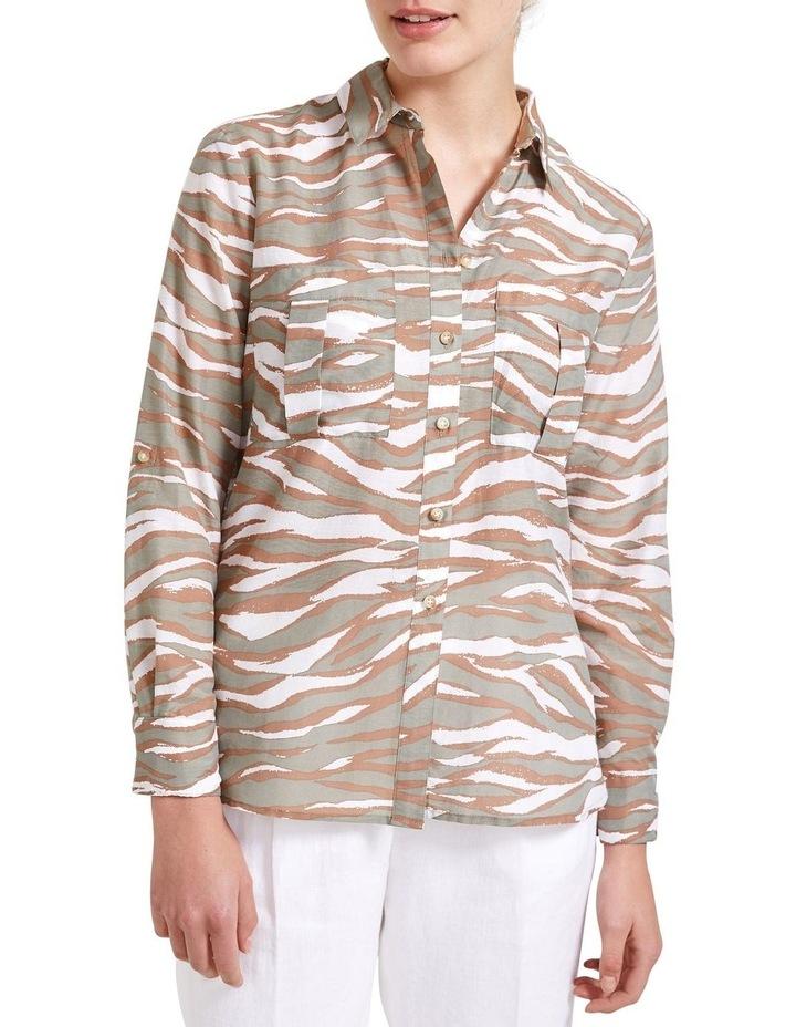 Jane Animal Print Shirt image 2