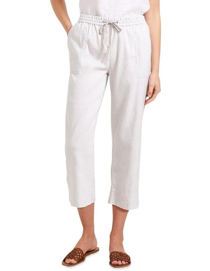 Rosa Crop Linen Pant image 1