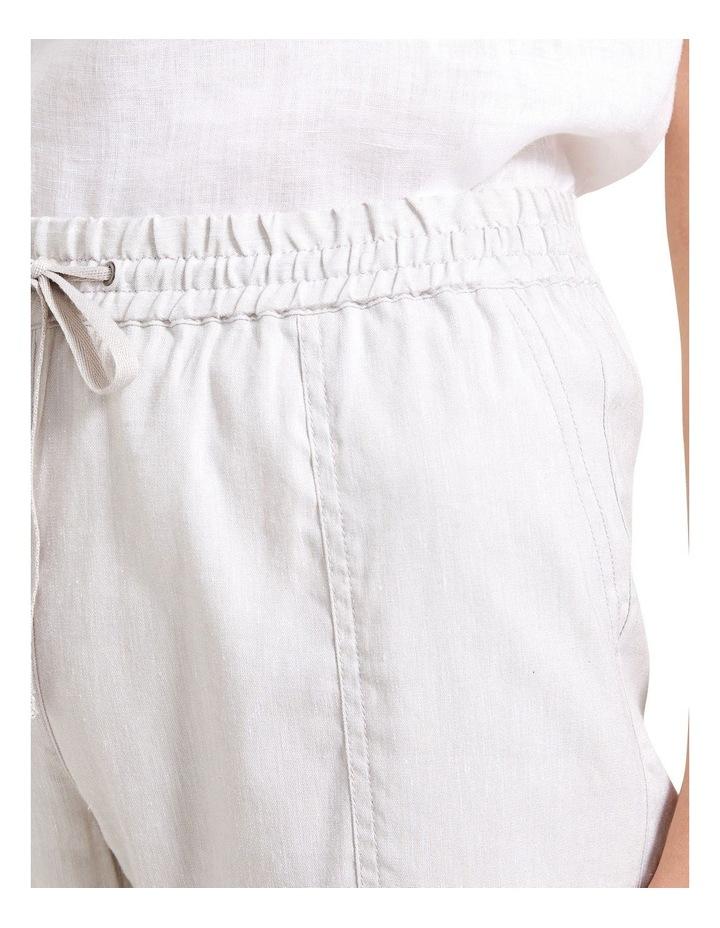 Rosa Crop Linen Pant image 5