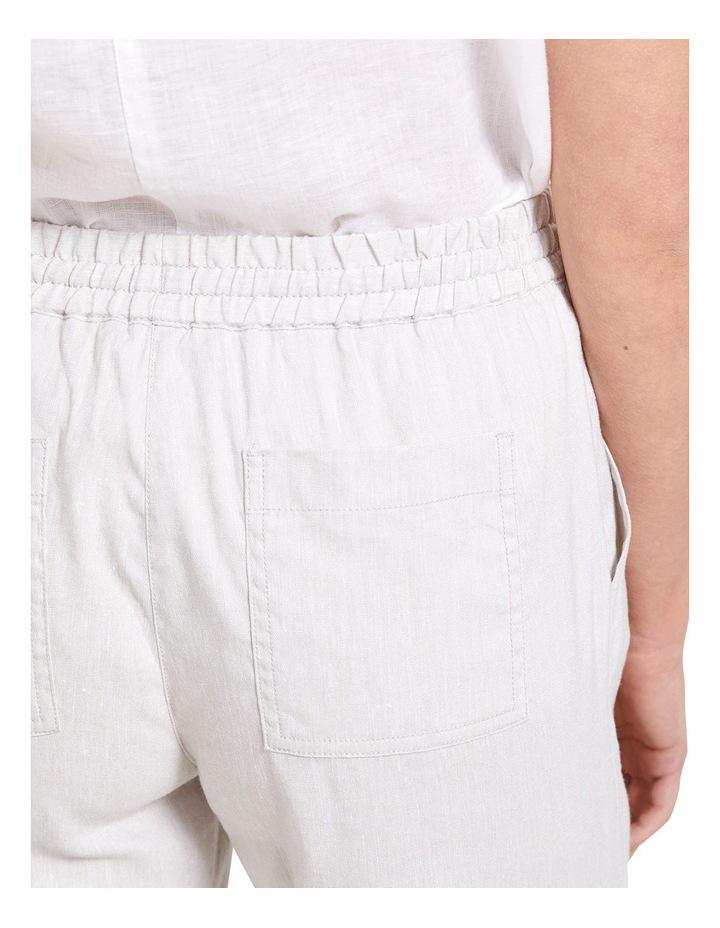 Rosa Crop Linen Pant image 6