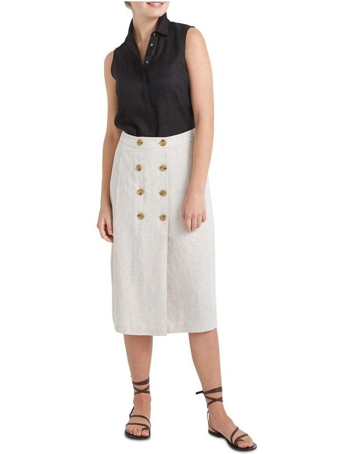 Frida Button Skirt image 3