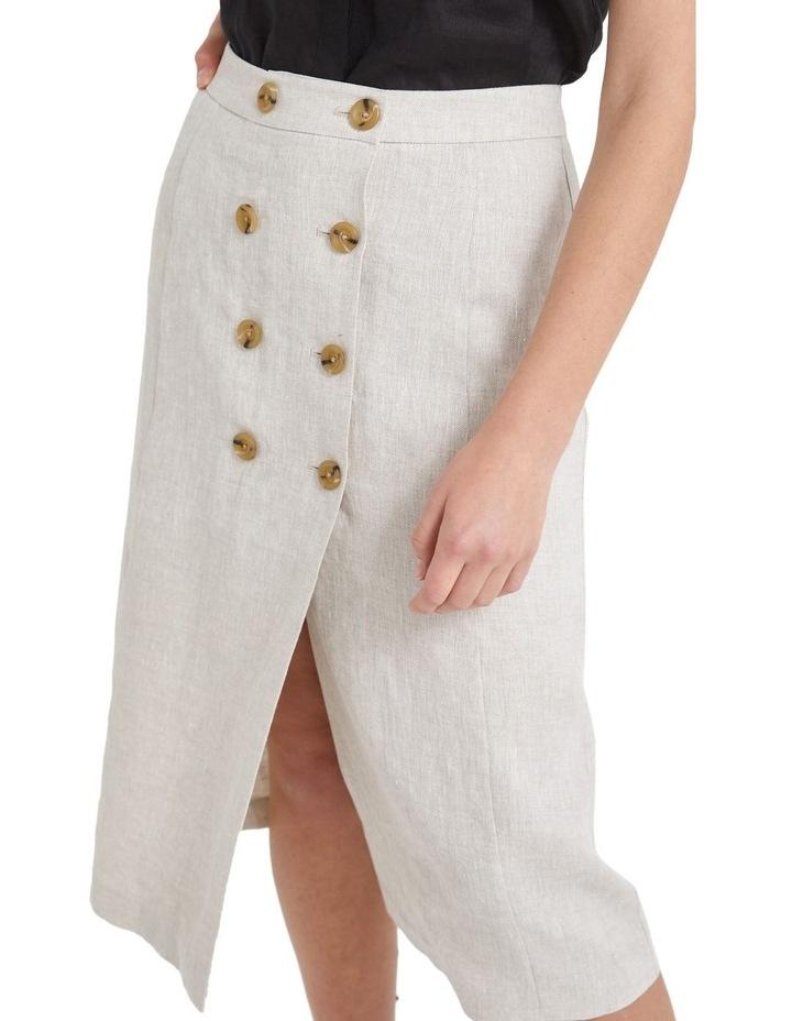 Frida Button Skirt image 4