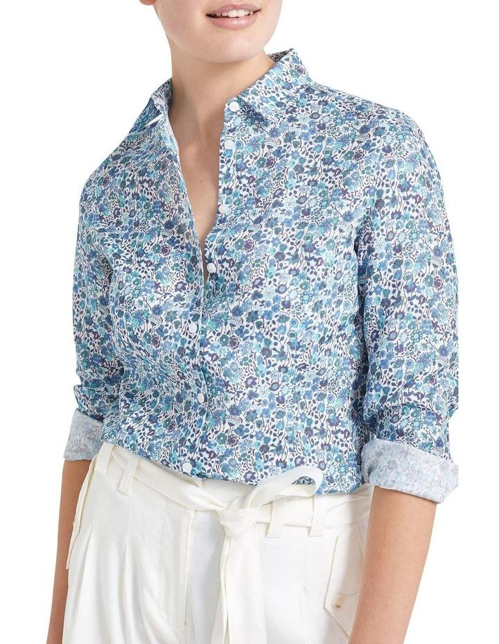 Kaylie Liberty Linen Shirt image 1