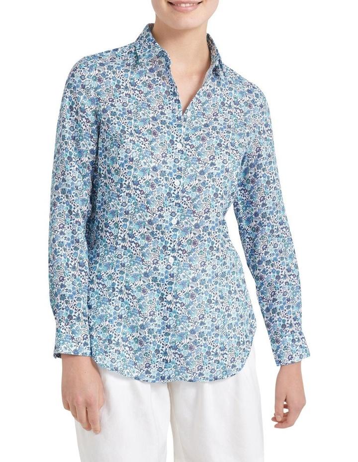 Kaylie Liberty Linen Shirt image 2