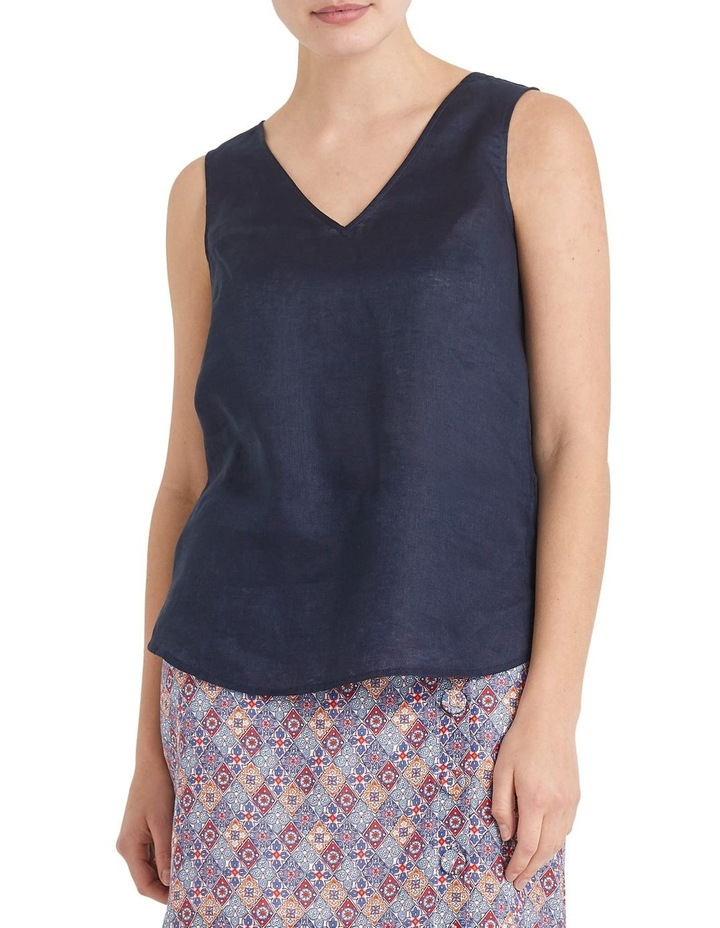 Alyse Linen Tank Top image 2