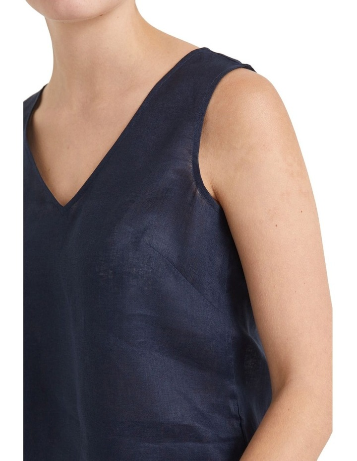 Alyse Linen Tank Top image 5