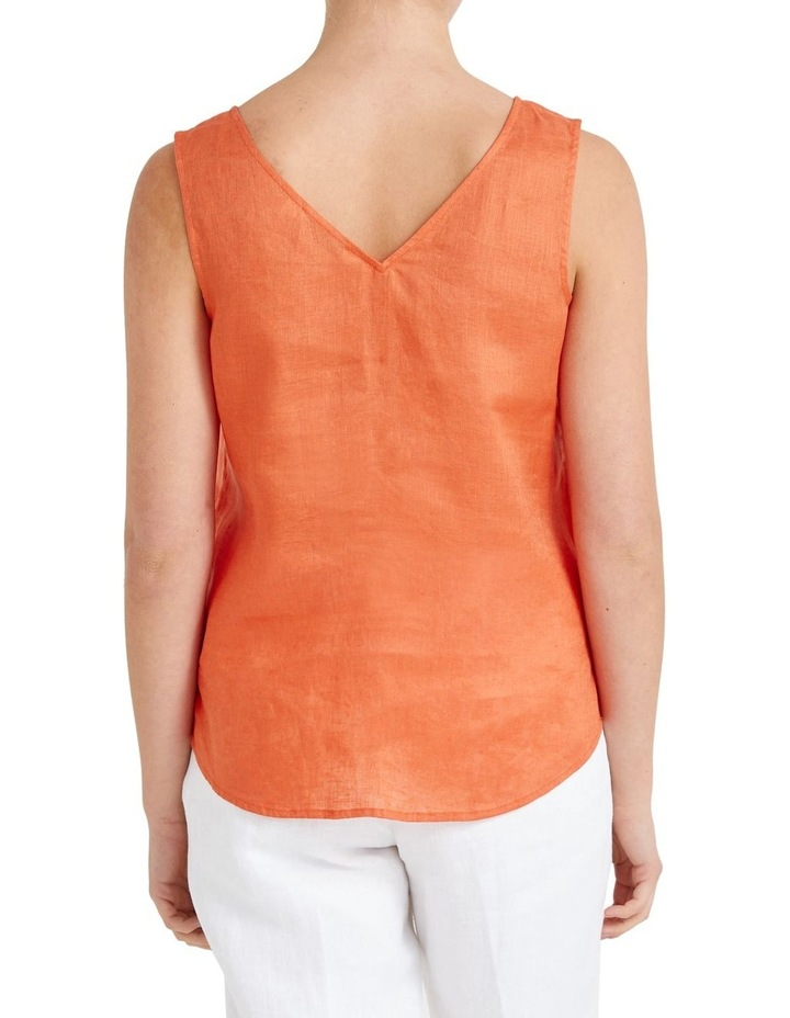 Alyse Linen Tank Top image 3