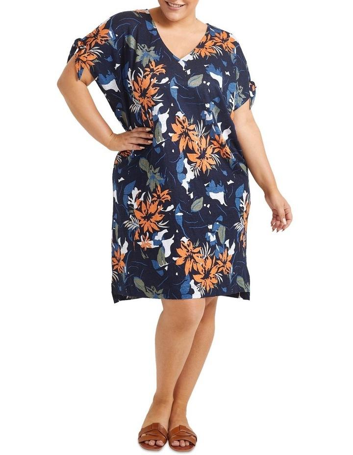 Skye Floral Linen Dress image 3